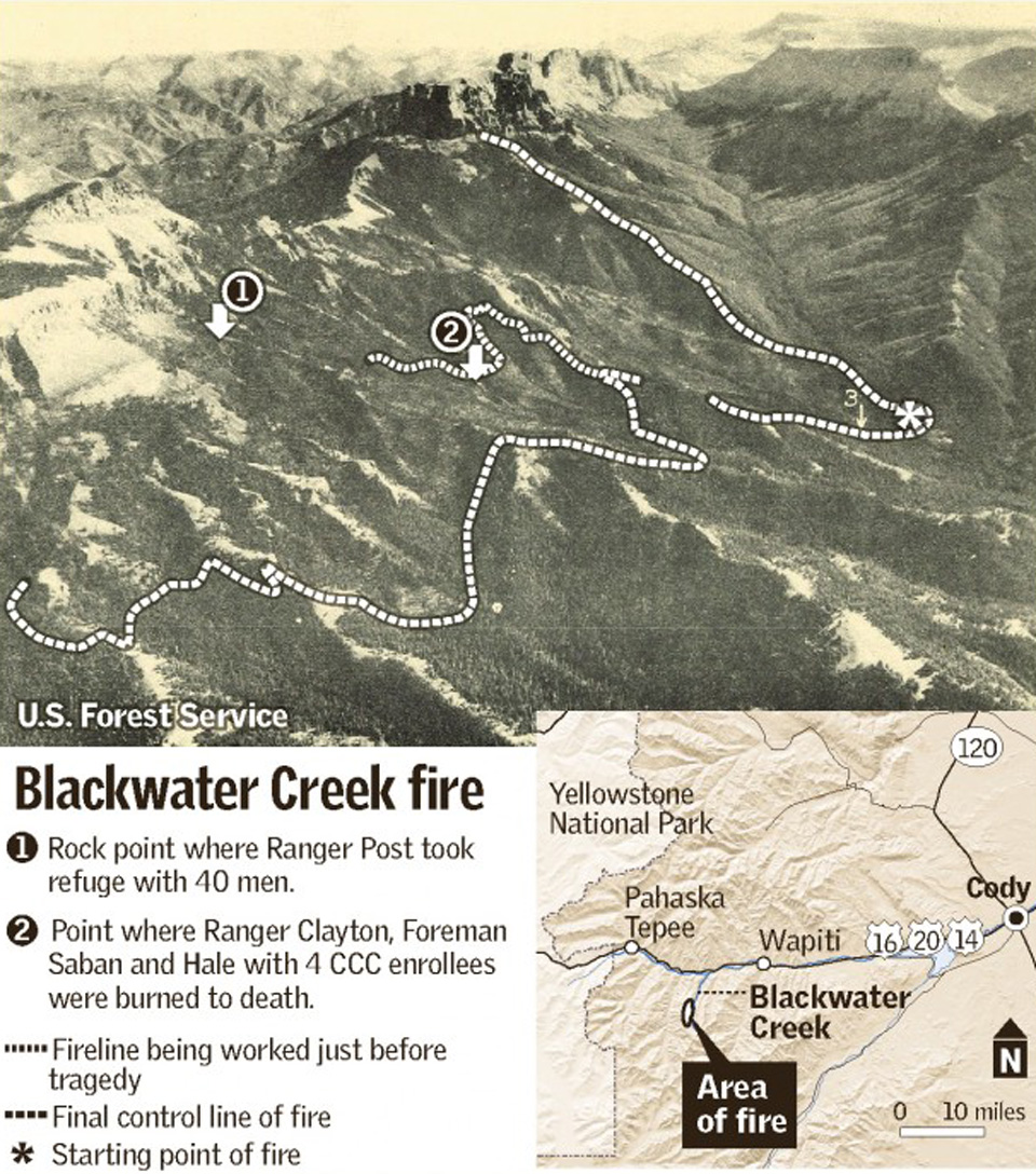 The Blackwater Fire Map