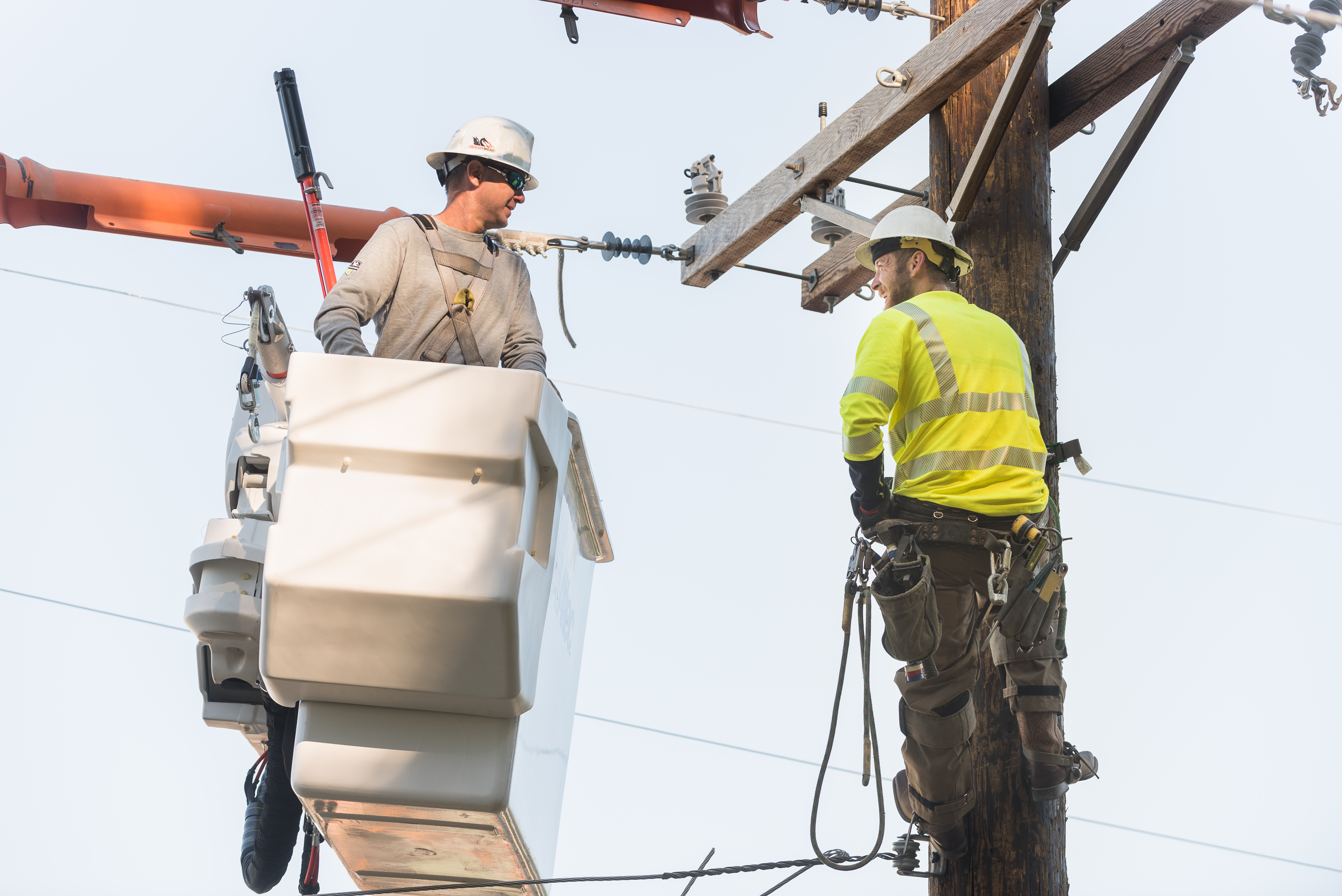 Lineworkers summer PPE