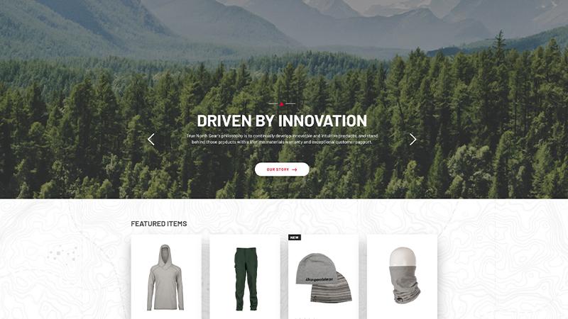 True North Retail Website